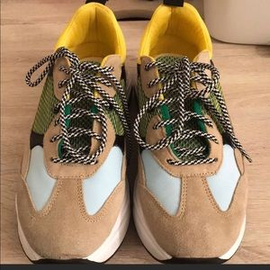 Topshop Multi-Colored Runners